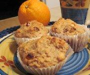 Muffins aux épices et aux arachides