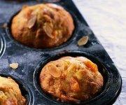 Muffins aux fruits et aux noix