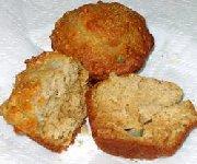Muffins aux poires et au miel