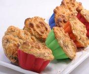 Muffins aux poires et aux carottes