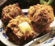 Muffins aux pommes et à la cannelle