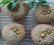 Muffins aux pommes et au caramel
