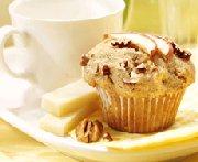 Muffins aux pommes et aux pacanes