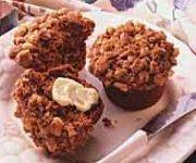Muffins aux raisins et streusel