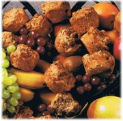 Muffins aux trois fruits 1