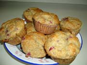 Muffins aux framboises 1