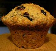 Muffins aux canneberges, citron et graines de pavot