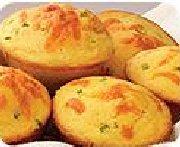 Muffins de maïs Santa Fe au fromage