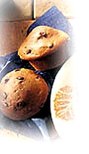 Muffins double chocolat aux amandes