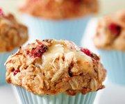 Muffins ensorcelants aux framboises