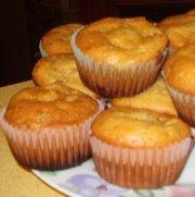 Muffins à la mangue et fraises (humalou3)