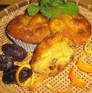 Muffin à l'orange (Auberge des Peulpiers)
