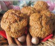 Muffins pommes et son