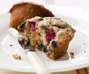 Muffins santé aux petits fruits