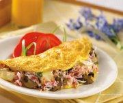 Omelette au crabe de la fête des Pères