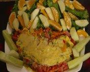 Omelette au jambon de chez nous