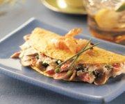 Omelette aux fruits de mer