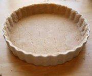 Pâte à tarte feuilletée de base 1