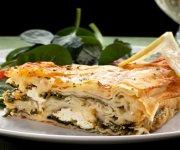 Pâté aux épinards et au fromage