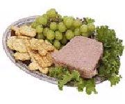 Pâté de foies de poulet au porto et aux raisins secs