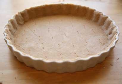 Pâte sucrée pour tarte simple
