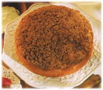 Gâteau pause-café à la cannelle