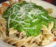 Pesto de basilic et épinards