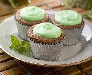 Petits gâteaux brownies chipits à la menthe