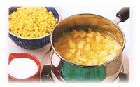 Chaudrée de maïs parmentier