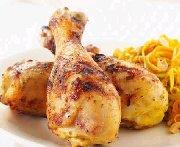 Pilons de poulet aux épices indiennes