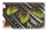 Salade de champignons et poivrons