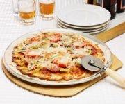 Pizza à la croûte de pommes de terre