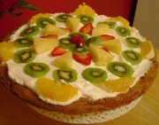 Pizza aux fruits de Natrel