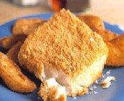 Poisson et frites au four