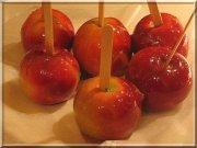 Pommes caramélisées à l'érable