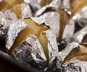 Pommes de terre en papillotes