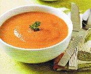 Potage aux carottes, cari et gingembre (Mijoteuse)