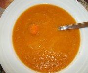 Potage aux carottes simple