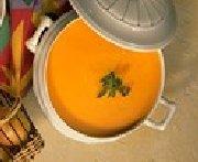 Potage aux carottes au fromage Havarti