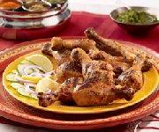 Poulet barbecue tandouri indien