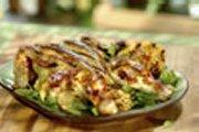 Poulet en crapaudine grillé à l'érable et aux noix