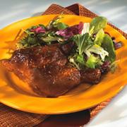 Cuisses de poulet estival parfumé à l'orange