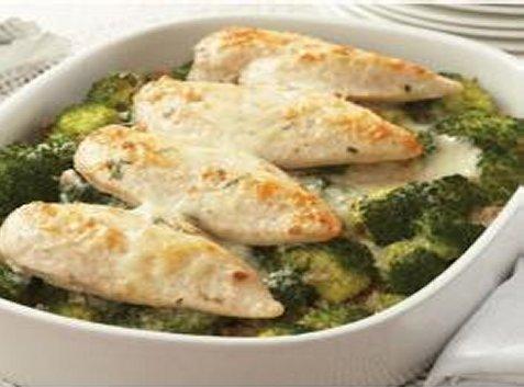 Poulet et brocoli divan avec riz aux noix recettes for Divan quebecois