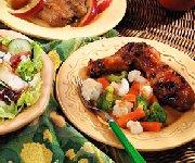 Poulet et légumes en papillote vite faits