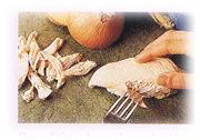 Galettes de poulet épicés