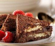 Pudding de pain perdu au chocolat et à l'espresso