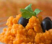 Purée de carottes rôties au thym