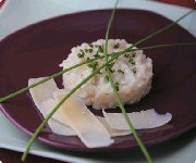 Risotto aux trois fromages