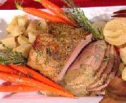 Rôti de porc à l'érable et à la moutarde