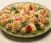 Rotini aux courgettes et aux tomates